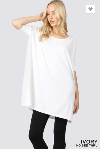 Life of Luxe Tunic - Ivory