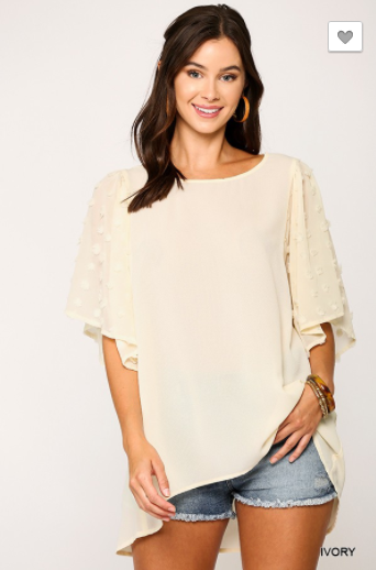 High Fashion Fanatic Blouse