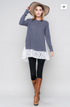 Lace To Meet You Tunic