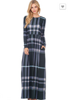 Mad for Plaid Maxi