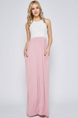 PRE-ORDER The Jaimee Maxi (Estimated Shipping Window 7/1/18-7/15/18)