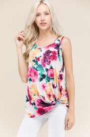Floral Knot Tank