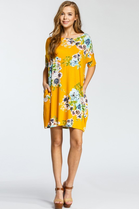 PRE-ORDER The Sunflower Tunic (Estimated Shipping Window: ASAP)
