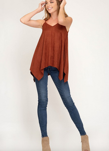 Little Suede Layering Tank (ASAP)