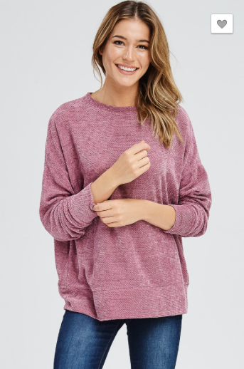 Oh So Comfy Top (NEW COLORS)