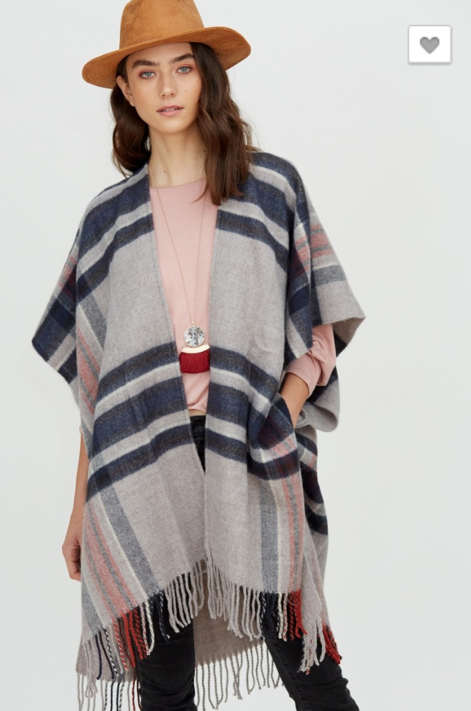 Chic & Sassy Poncho (2 Colors)