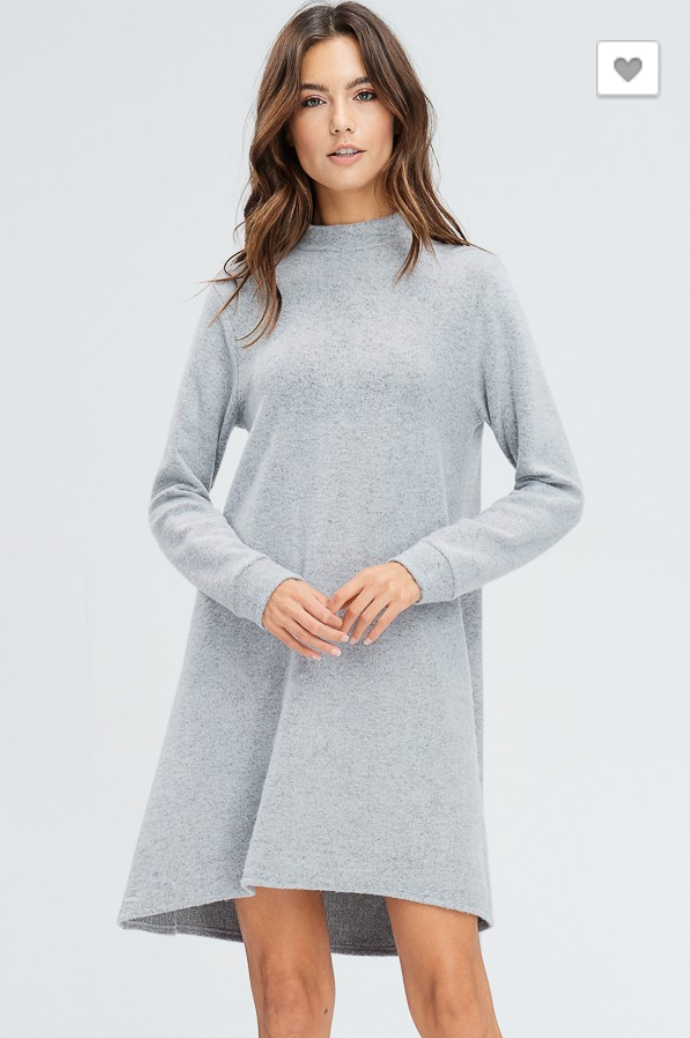 Baby It's Cold Sweater Dress