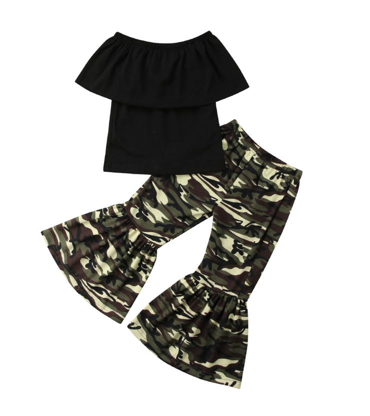 PRE-ORDER Cute Camo Flare Set (Estimated Ship SEPTEMBER)