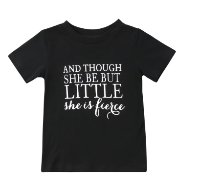 PRE-ORDE Fierce Little Miss Tee (ESTIMATED SHIP OCTOBER)