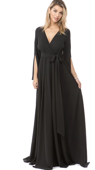 The Audrie Dress-Black