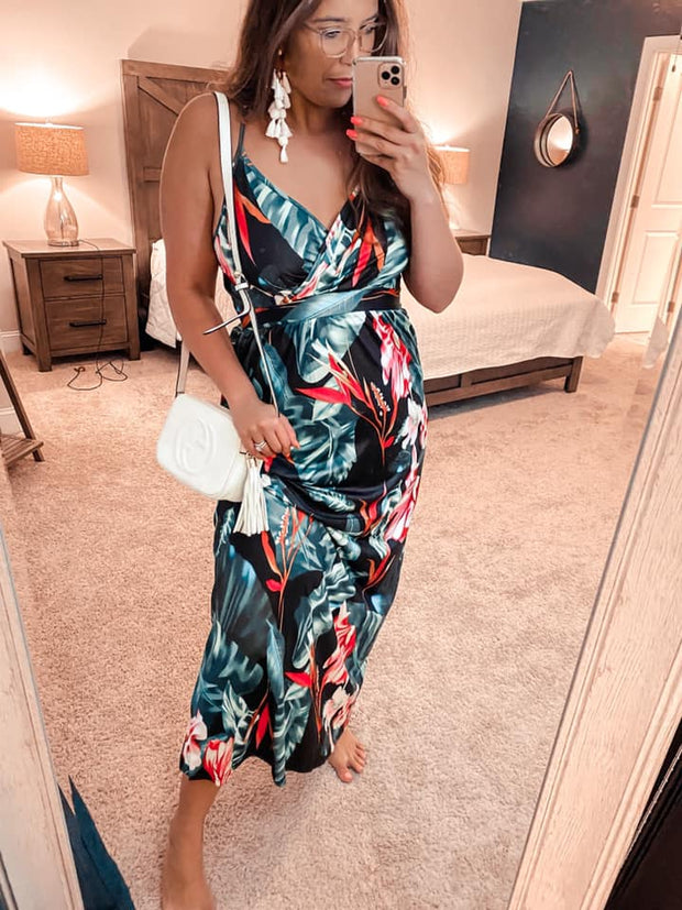 Tropical Goddess Maxi Dress (Special Order - Guaranteed Shipment to you within 30 business days of your order date!)