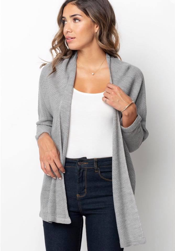 PRE-ORDER  Wednesday Cardi   Estimated Shipping Window: 9/1-9/30