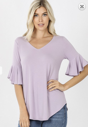 Casual Vibes Top - Lavender