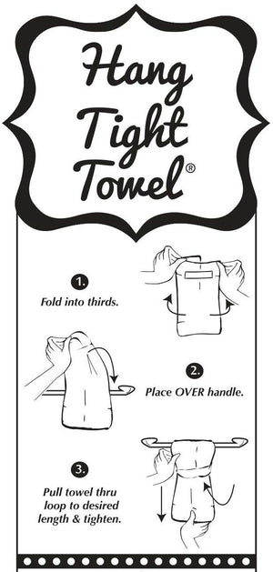 Twisted Wares - I Love Jesus... But I Drink A Little® HANG TIGHT TOWEL