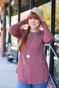 Candy Cane Delight Layering Top