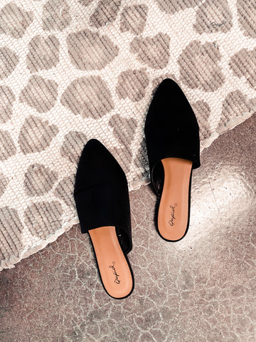 Perfect Black Slip On