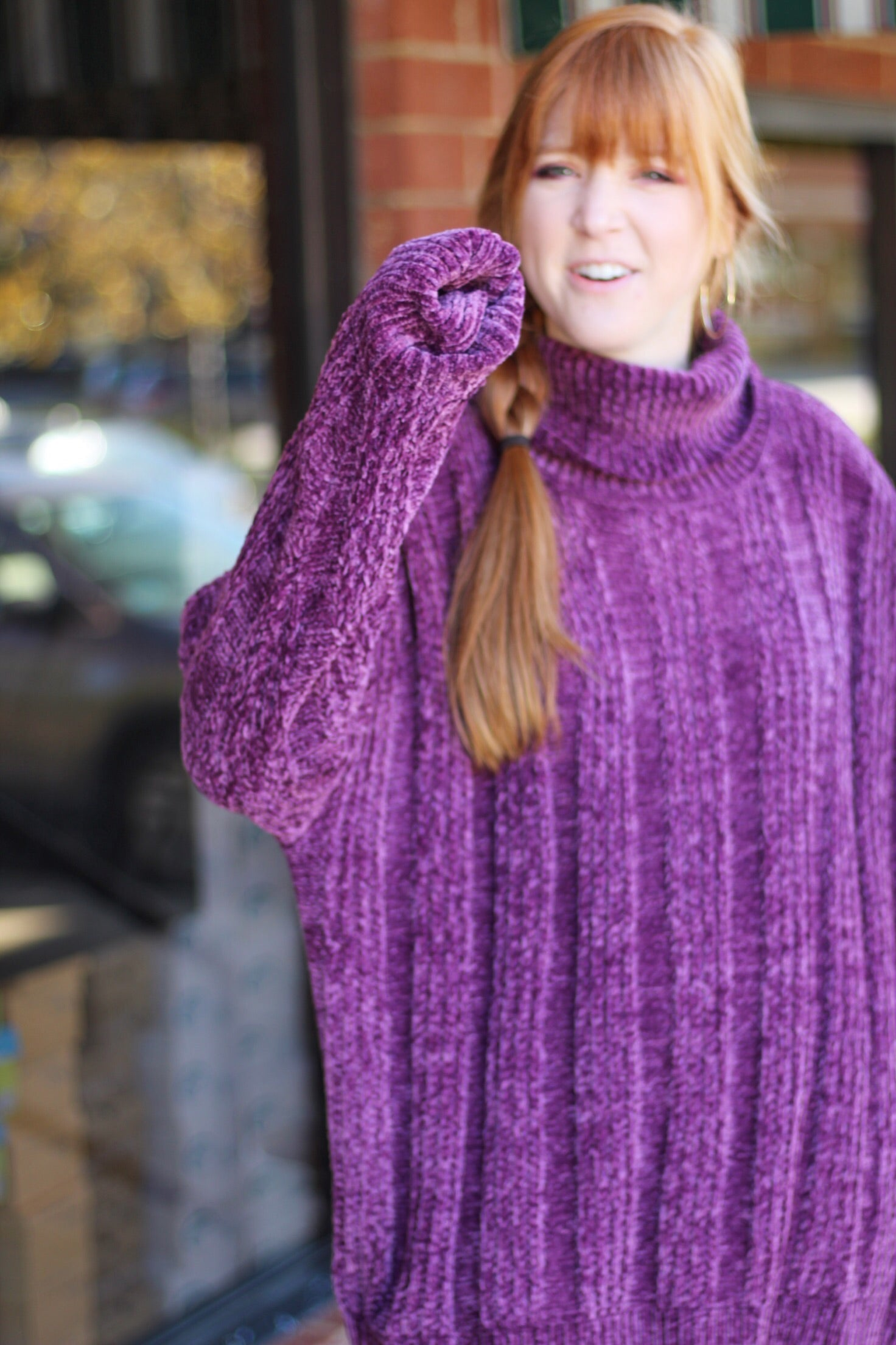 DANCER Chenille Sweater DOORBUSTER(9 Colors)