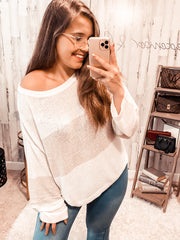 Cool Fall Breeze Knit Top (Special Order - Guaranteed Shipment to you within 30 business days of your order date!)