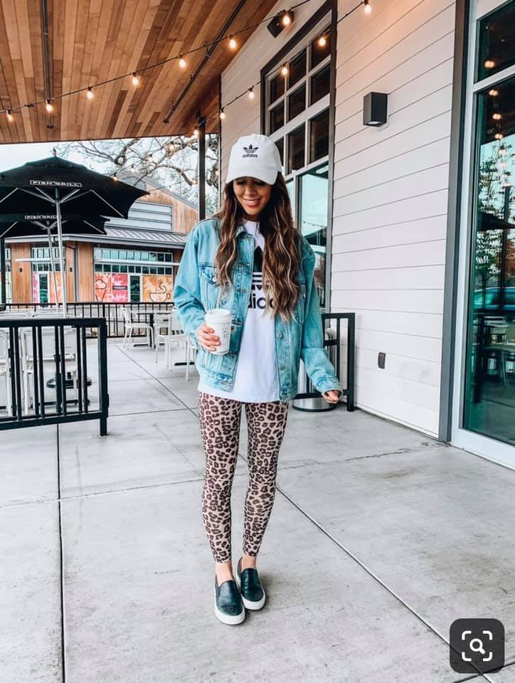 SOFTEST Leopard Leggings
