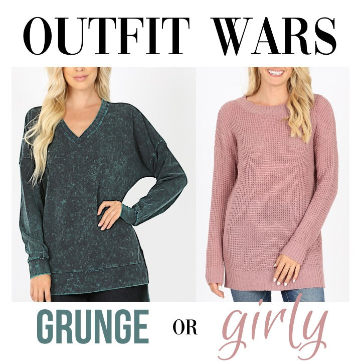 PREORDER Outfit War: Grunge vs Girly (Arrives to S&C in November)