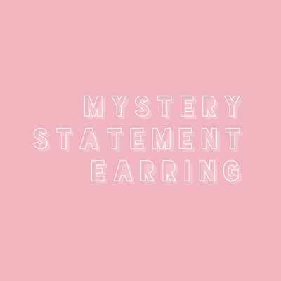 Mystery Statement Earrings