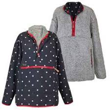 Simply Southern Reversible Pullover Polka Dots