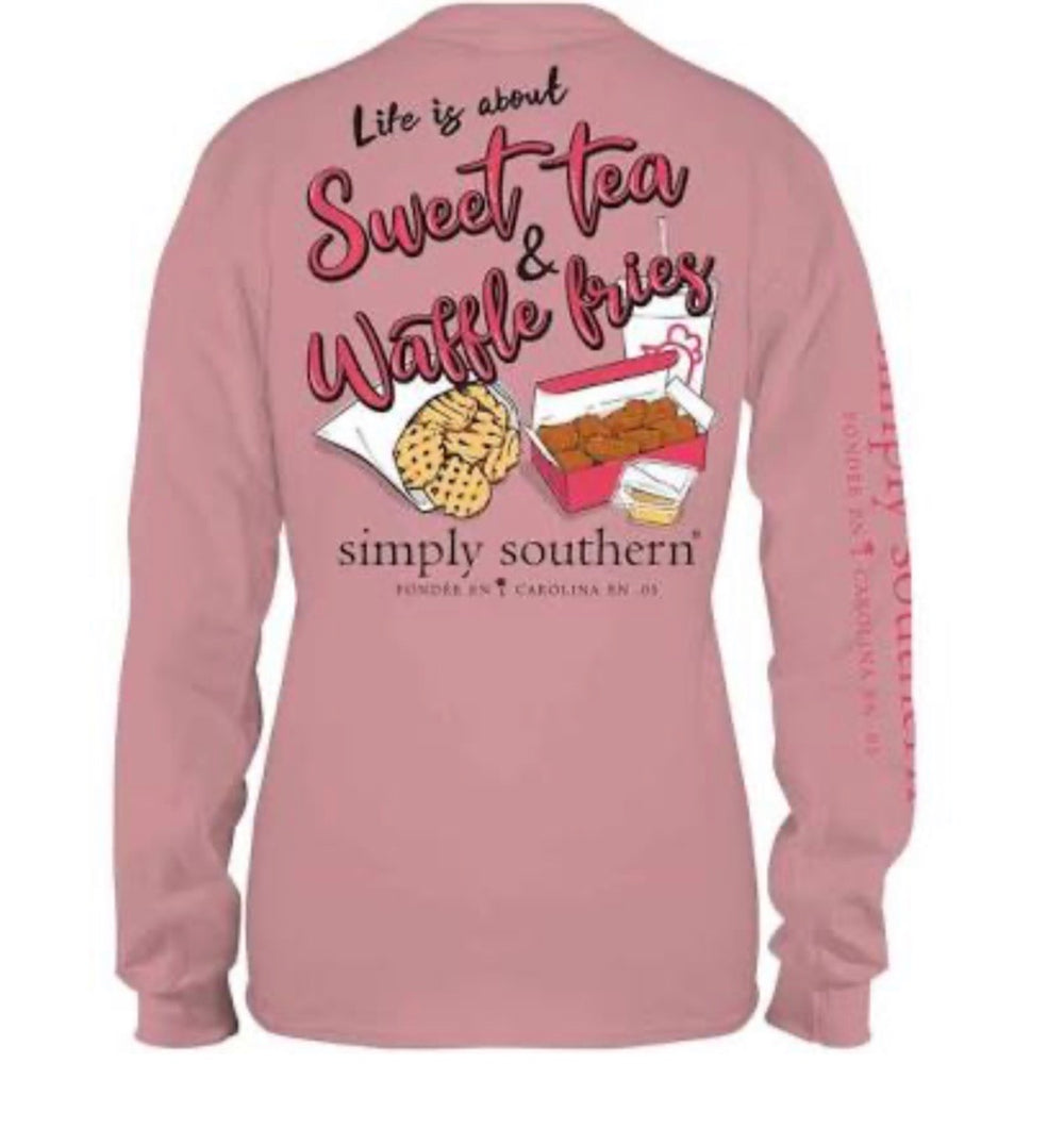 Simply Southern Sweet Tea Long Sleeve T-shirt