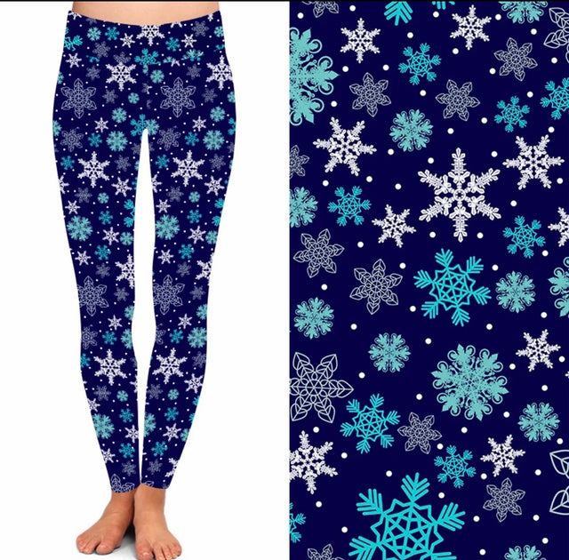 BAAK Snowflake Yoga Waist Band Leggings