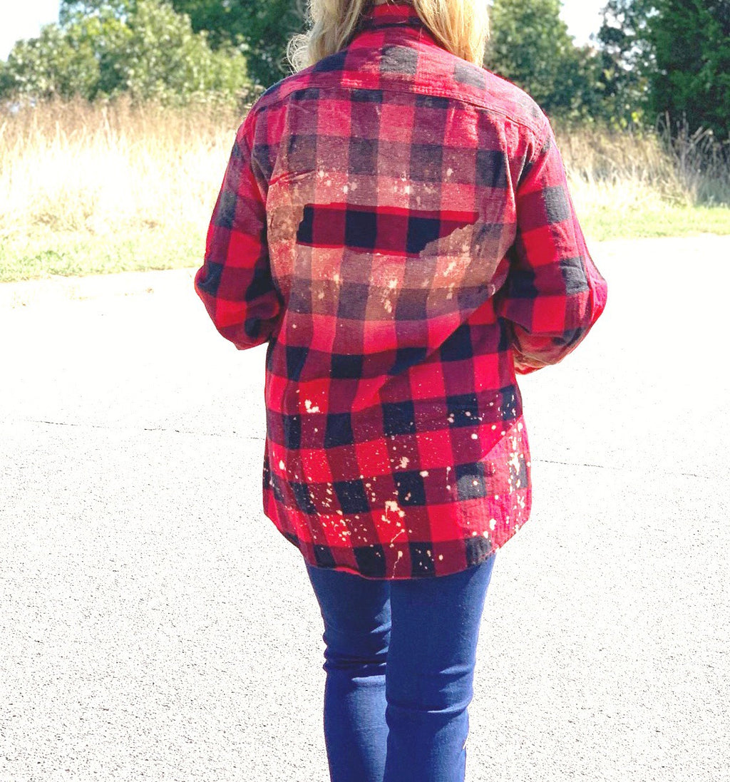 TN State Bleached Flannel