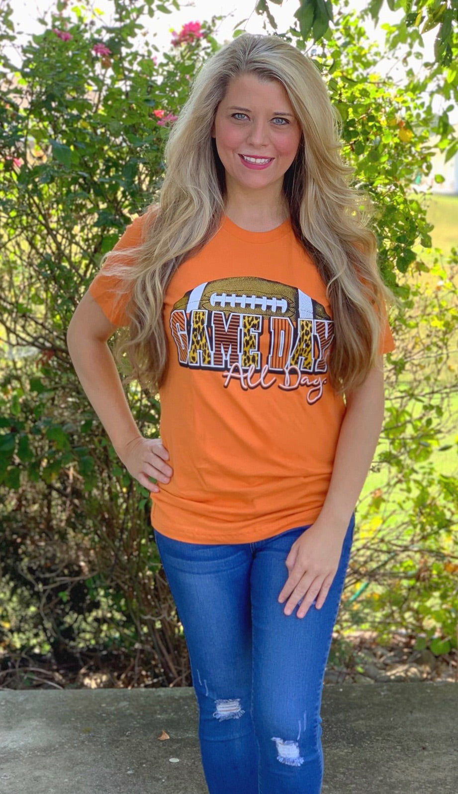 Orange Game Day T-Shirt