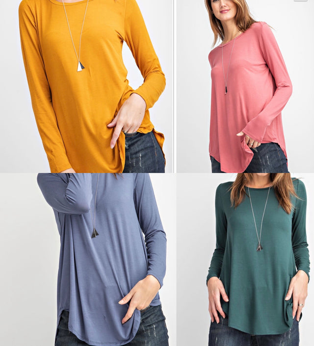 Curvy ~ Door Buster - High Low TUnic Store Credit/Exchange ONLY<