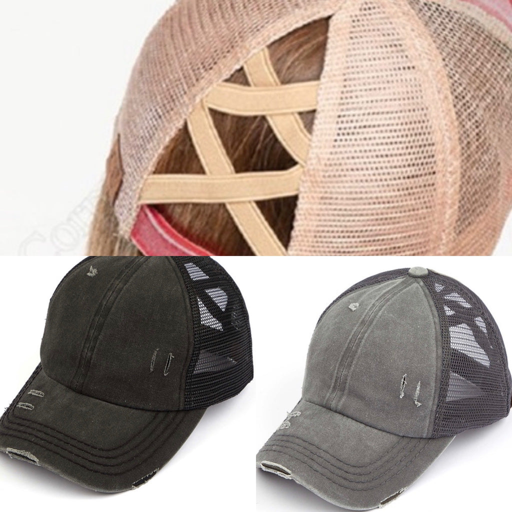 CC Washed Criss Crossed Hat