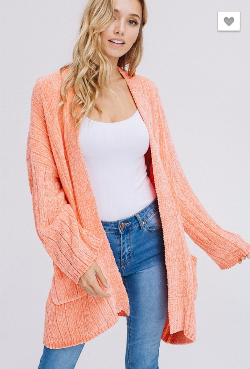 Peach Super Swift Cardigan