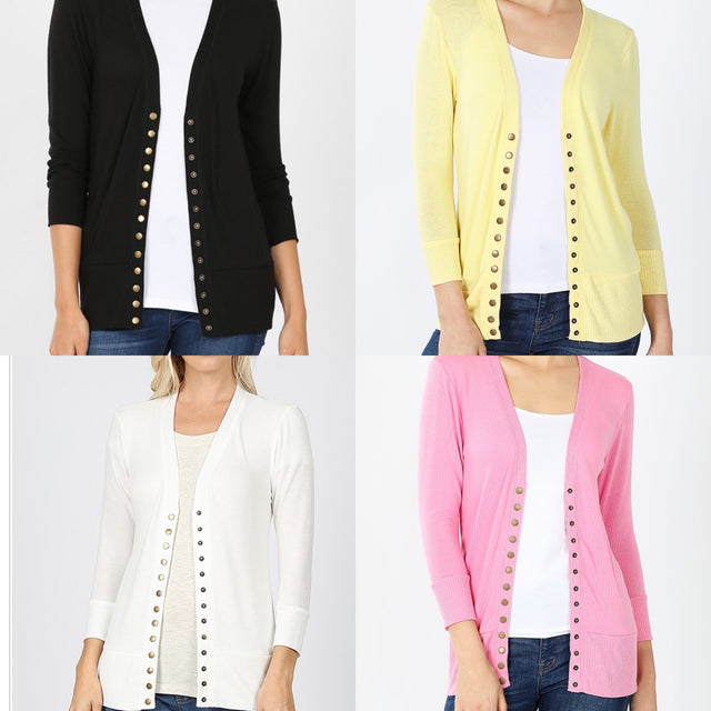 Snap Cardigans