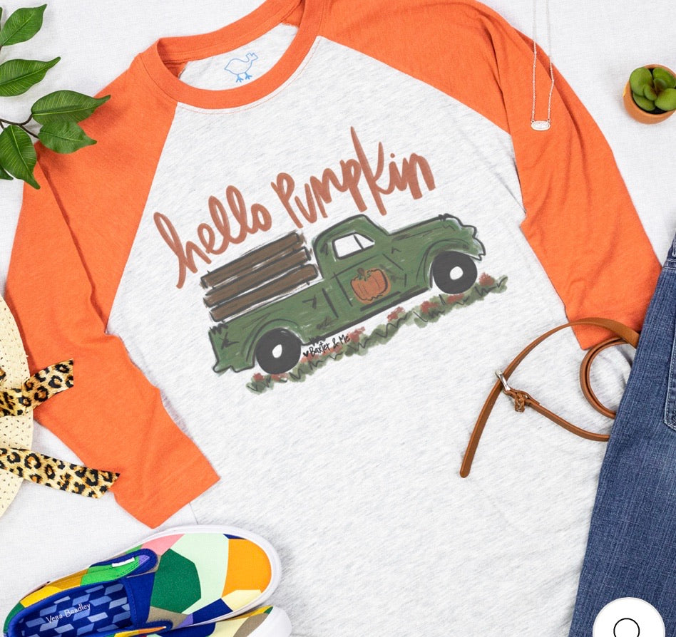 Southern Roots Hello Pumpkin Design