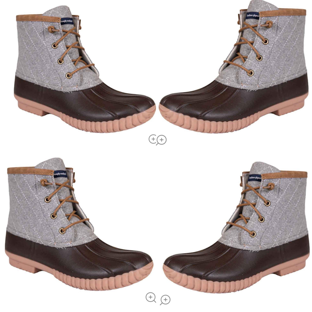 Simply Southern Gray Duck Boots