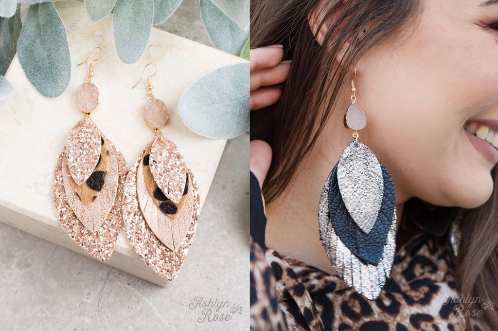 Petal Layered Earrings
