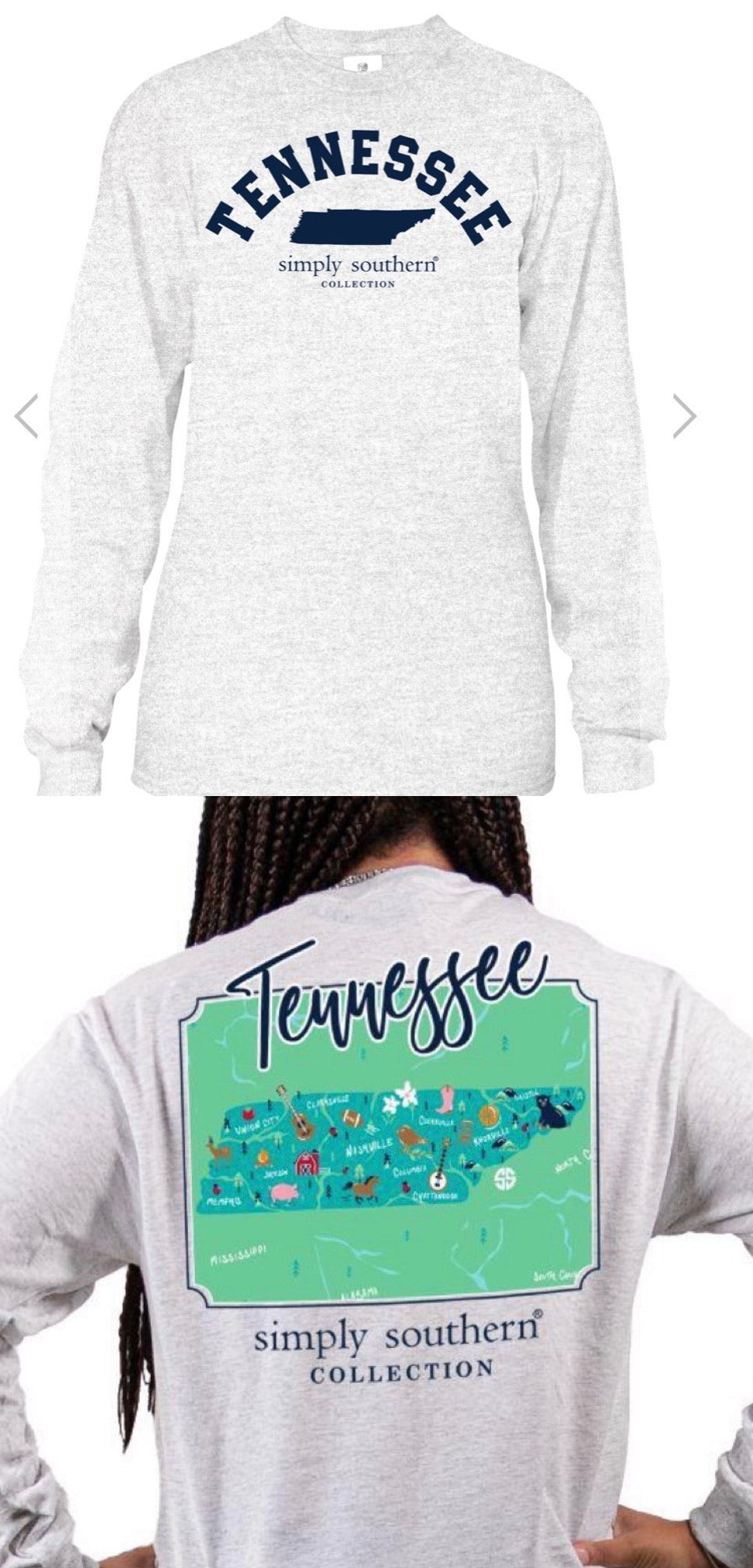 Simply Southern Tennessee Long Sleeve