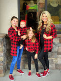 Mommy and Me Buffalo Plaid Flannels