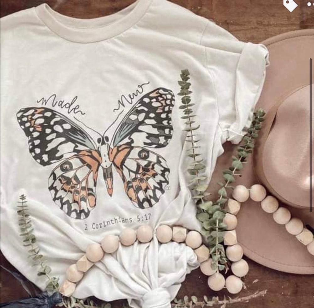 Butterfly Made New T-shirt