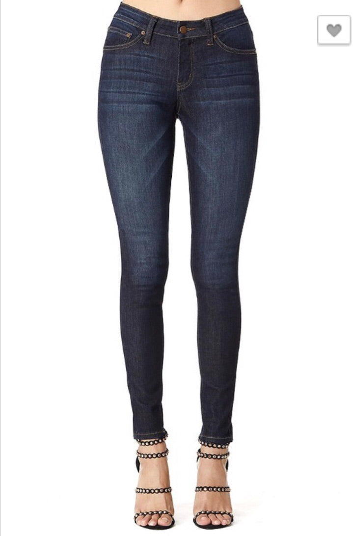 Non-Distressed Jeans