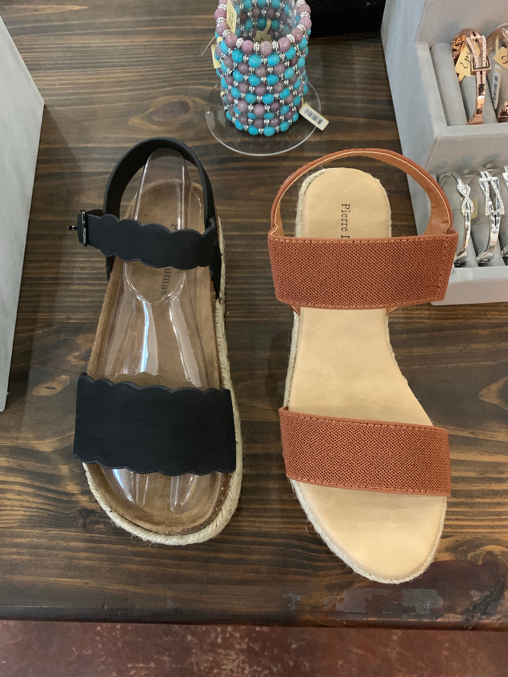 Brown Espadrille Shoes