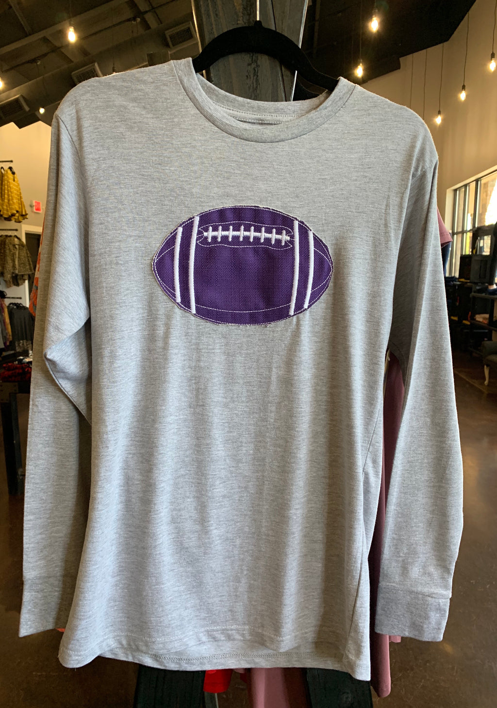 Southern Roots Purple/White Sachi Football