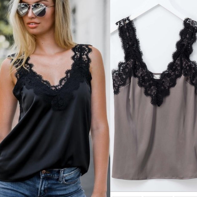 Layering Lace Cami