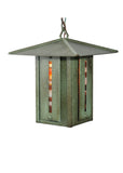 "Modern Rustic Ceiling Lights Meyda 106036 - 14""Sq Moss Creek Creekside Lantern Pendant Light"