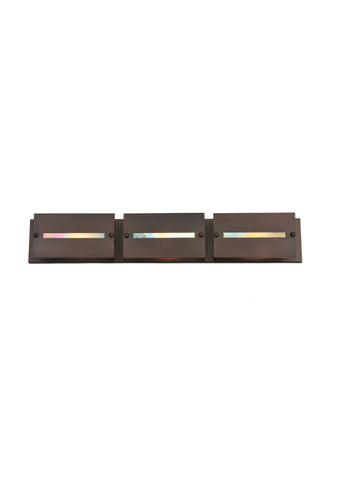 "Modern Lodge Style Wall Sconce Lighting Meyda 106363 - 36""W Moss Creek Creekside 3 LT Vanity Light"