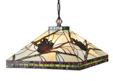 "Modern Rustic Ceiling Lights Meyda 106511 - 24""W Pinecone Mission Pendant Light"