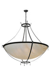 "Rustic Ceiling Lights Meyda 106637 - 52""W Modesto Inverted Pendant Light"