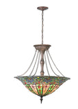 "Country Style Ceiling Lights Meyda 106641 - 24""W Bella Inverted Pendant Light"