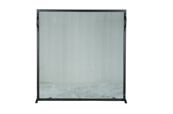 "Modern Farmhouse Style Fireplace Screens Meyda 107465 - 41""W X 42.5""H Prime Fireplace Screen"